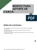 Documentos Del Transporte