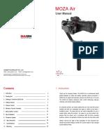 MOZA Air User Manual En Final Version