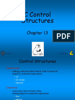 4 Control Structures