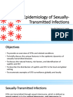 Epidemiology of HIV and syphilis in PH