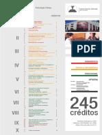 Malla Curricular Psicologia Clinica