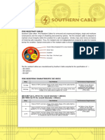 SOUTHERN CABLE Fire Resistant Cable