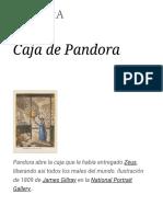 Caja de Pandora - Wikipedia, La Enciclopedia Libre
