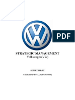 volkswagen strategy management