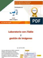 Estructuras de Datos Con Objetos Visuales - JTable e Imágenes