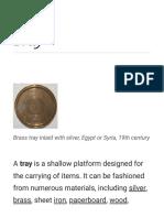 Tray - Wikipedia