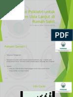 Layanan Psikiatri Untuk Pasien Usia Lanjut Di Rumah Sakit