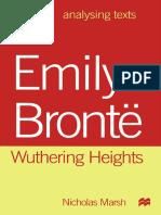 (Analysing Texts) Nicholas Marsh (auth.)-Emily Brontë_ Wuthering Heights-Macmillan Education UK (1999).pdf