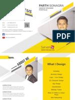 Portfolio Yellow v004