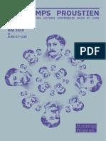 Programme Printemps Proustien