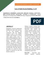 Paper Publition Report
