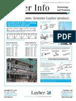 Layher Info Aluminium Beams