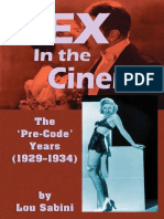 Sex in the Cinemaby Lou Sabini.epub