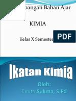 ikatan kimia kelas x semester 1.ppt