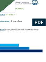CÉLULAS, ÓRGANOS Y TEJIDOS DEL SISTEMA INMUNE.docx
