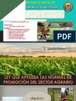 Ley de Promoción y Sector Agrario