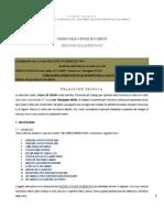 Relazione Tecnica Mezzi Villa Pini