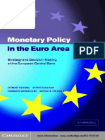 Otmar Issing, Vitor Gaspar, Ignazio Angeloni, Oreste Tristani - Monetary Policy in the Euro Area_ Strategy and Decision-Making at the European Central Bank (2001).pdf