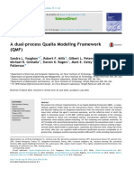 a Dual Process Qualia Modeling Frame 2016 Biologically Inspired Cognitive Ar