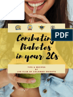 Combating Diabetes in your 20s
