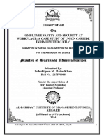 EMPLOYEE SAFETY AND SECURITY AT WORKPLACE A CASE STUDY OF UNION CARBIDE INDIA LIMITED (UCIL.pdf