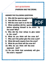 HOT QUESTIONS ( THE SPARROW & THE CROW).docx