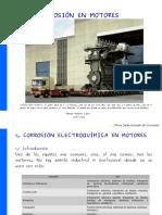 Corrosión en Motores