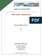 Basic Project Management - Module 1
