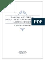 Pattern Making-basic Skirt