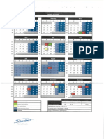Calendario 2018 Madrid Oficinas