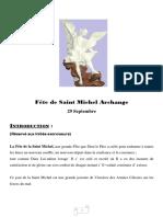 Exorcisme par l'archange saint Michel