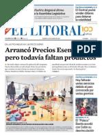 El Litoral Mañana 30-04-2019