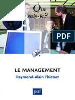 1683-Le Management - Thiertart Raymond-Alain