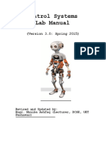 Control Systems Lab Manual
