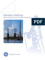 Condition Monitoring for Petroleum Refineries Brochure - GEA17985A