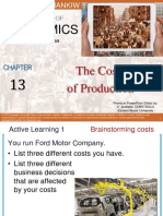 Premium Ch 13 the Costs of Production