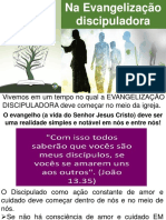 EVANGELIZAÇÃO DISCIPULADORA - CONCEITO