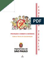 Cartilha Prevencao de Incendios - Jan 2018