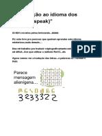 """""""Introdução ao idioma dos Mii's (Miispeak)"""".pdf"""
