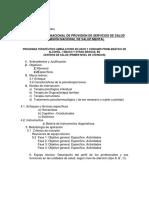 Programa Terapéutico Ambulatorio Alcohol, Tabaco y Otras Drogas 09 Enero 2014 (2)