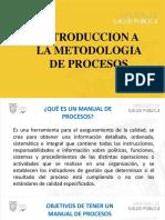 1 Introducción a La Metodología de Procesos1