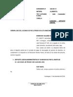 Deposito Judicial / Administrativo