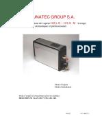 DocumentSlides.org-SAUNATEC GROUP S.a. Nouveau Générateur de Vapeur HELO- HSX M à Usage Domestique Et Professionnel. -Mode d Emploi -Mode d Installation