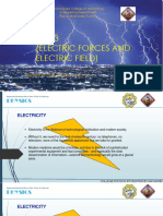Part 3 Electric Forces and Electric Field