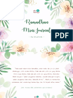 Ramadhan Mini Journal #PreMarriageTalk (2)