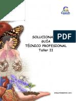 2015 Solucionario Guía 21 TC Taller II