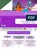 Clase 20 TC Herencia Ligada Al Sexo y Genealogías Razas 2015