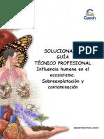2015 Solucionario Guía 26 TC Influencia Humana en El Ecosistema Sobreexplotación y Contaminación