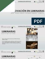 Innovacion en Luminarias