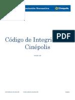 Codigo de Integridad Cinepolis